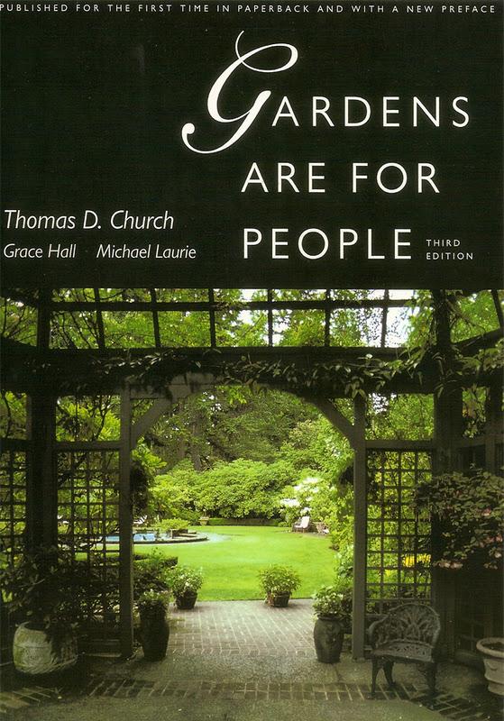 Libros recomendados de thomas church y michel baridon for Libros de jardineria y paisajismo