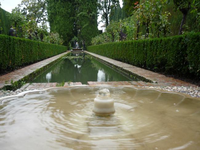 Jardines del generalife en diciembre paisaje libre for Jardines nazaries