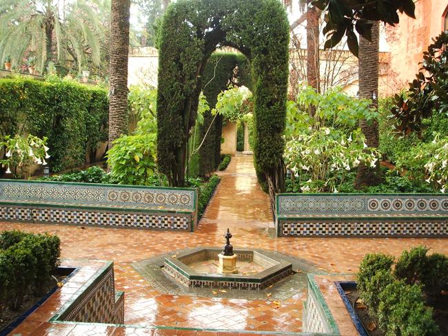 Jardines del alc zar de sevilla parte ii paisaje libre for Jardines verticales sevilla