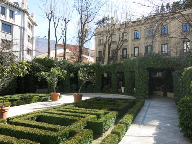 Jardines Del Marqués De La Casa Riera En Alcalá 44 Paisaje Libre