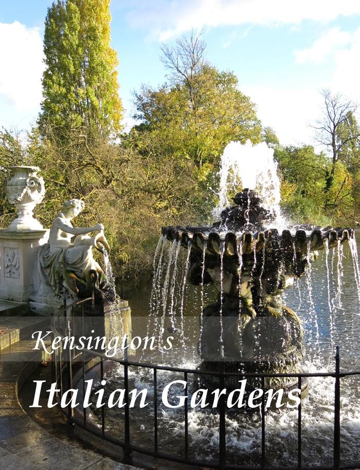 Jardines italianos de kensigton gardens parte ii paisaje for Jardines italianos