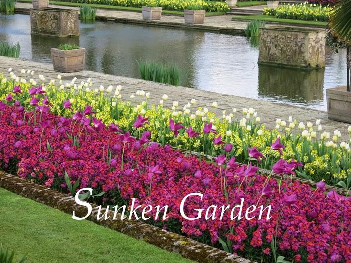 The Sunken Garden en primavera   Paisaje Libre