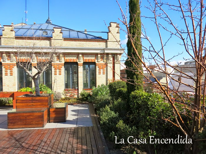 Terraza de la casa encendida el jard n urbano m s social for Casa jardin madrid